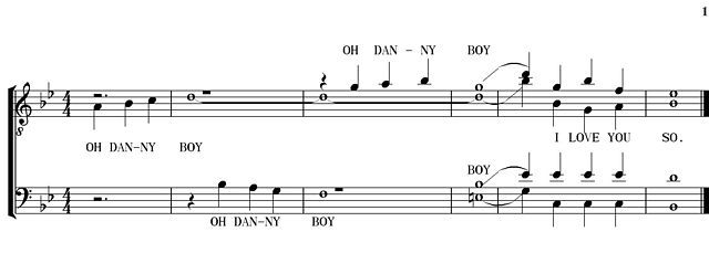 danny boy lead sheet pdf