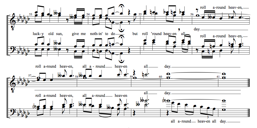 Barbershop Music : ... zip file containing sheet music music notation 2 files sheet music