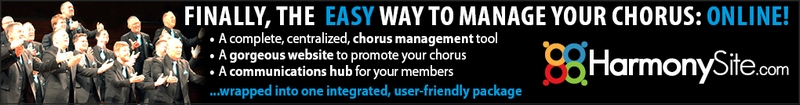 HarmonySite - the easy way to manage your chorus